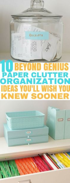 paper organization home office - paper organization home ; paper organization home diy ; paper organization home office ; paper organization home counter ; paper organization home binder ; paper organization home wall ; paper organization home konmari Organisation Hacks, Organizing Paperwork, Organization Station, Clutter Organization, Home Office Organization, Organizing Your Home, Organizing Tips, Office Storage, Organizing Paper Clutter