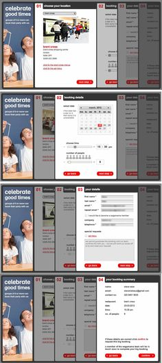 Wagamama booking form