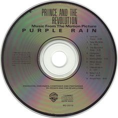 prince - purple rain cd #Prince #The Revolution