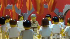 Pinksteren uitgelegd met LEGO