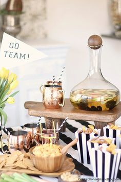 Game Day Party Ideas, Food, & Drink - Celebrations at Home