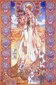 Sionnach - Irish Fox Goddess by Jim FitzPatrick