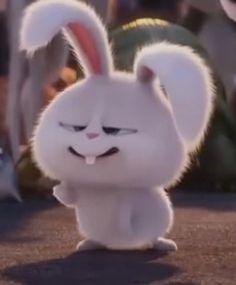 [Series][Monayeon] Y-O-U-T-H - You have a new message - Halaman 6 - Wattpad Cute Bunny Cartoon, Cute Cartoon Pictures, Cartoon Pics, Cute Disney Wallpaper, Cute Cartoon Wallpapers, Snowball Rabbit, Rabbit Wallpaper, Beautiful Rabbit, Secret Life Of Pets