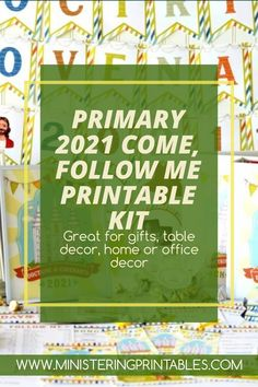 Primary 2021 is all about following the Savior and living by His teachings. The Come Follow Me Primary Doctrine & Covenants Kit has EVERYTHING you need to teach the basics of Christ's gospel in a fun, engaging way! With this kit, your class will be ready to follow Jesus Christ into eternal happiness. Every student will find pages that interest them here! #PrimaryPrintables #LDSprimary #Ministering #MinisteringPrintables #DoctrineandCovenants Follow Jesus, Follow Me, Savior, Jesus Christ, Lds Seminary, Happy Birthday Tag, Lds Blogs, Getting Baptized, Primary Activities