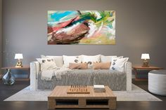 Items similar to Large Painting on Canvas,Original Painting on Canvas,large art on canvas,xl abstract painting,painting colorful on Etsy Abstract Wall Art, Canvas Wall Art, Colorful Artwork, Large Painting, Texture Art, Large Art, Canvas Size, Contemporary Art, Original Paintings