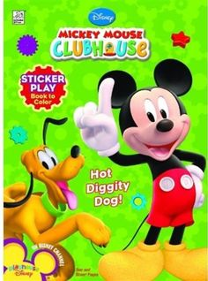 Disney Mickey's Clubhouse: Hot Diggity Dog! Sticker « Delay Gifts
