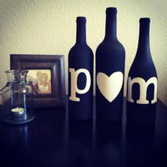 thanks for the photo melissa! love how you have them displayed. happy for you! :) #home #decor #bottles