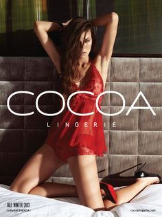 Print Ad for Cocoa Lingerie  Production: INDEX BURÓ CREATIVO