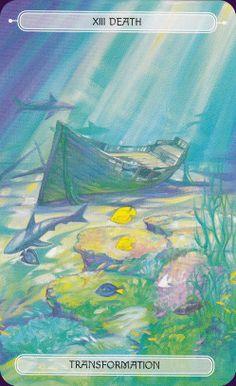Oceanic Tarot Deck - I love the colors!