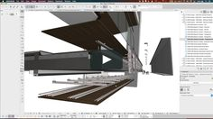 Demonstration on how to model complex assemblies and construction systems in Archicad using the new railing tool. All the details can then be extracted directly…