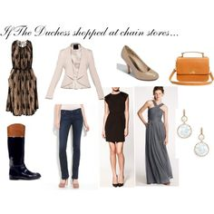 From the blog.  Duchess of Cambridge style