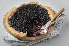 Talkkuna-mustikkapiirakka  ✦  Monille talkkuna on tuttu viilin kanssa syötynä, mutta se sopii myös jälkiruokiin ja leivonnaisiin. http://www.valio.fi/reseptit/talkkuna-mustikkapiirakka/
