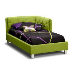 Jordan II Kids Furniture Twin Corner Bed - Value City Furniture