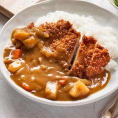 Chicken Katsu Curry Recipes, Katsu Recipes, Chicken Curry, Arroz Al Curry, Asian Recipes, Healthy Recipes, Japanese Recipes, Japanese Curry, Vegetables