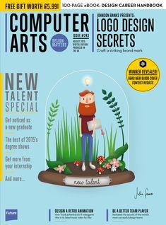 #Computer #Arts Magazine 242. #Logo #design secrets.
