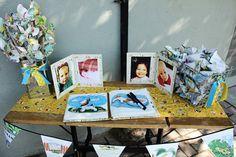 A Little Golden Book baby shower!!