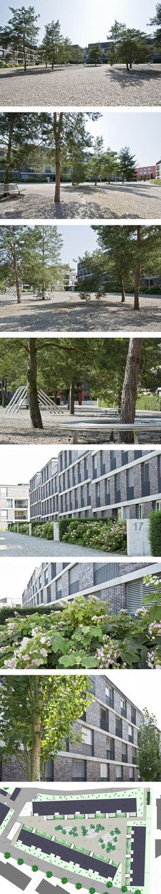 Fontana Landschaftsarchitektur - Basel - Landschaftsarchitekten  Pilgerhof Dättwil