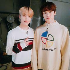 Chan and Hansol ♡ Seventeen Vlive, Seventeen Leader, Woozi, Jeonghan, How To Make Ramen, Hip Hop, Vernon Hansol, Adore U, Pledis 17