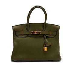 Hermes Birkin Togo 30 Shoulder Bag