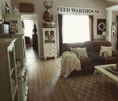 Modern farmhouse liv