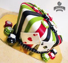 Poker cake by Tadeo Mendoza, via Flickr