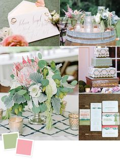 Sage and peony wedding colors.I like the peony, but I'm not hooked on the sage Garden Party Wedding, Green Wedding, Spring Wedding, Floral Wedding, Diy Wedding, Wedding Flowers, Wedding Ideas, Wedding Inspiration, Wedding Weekend