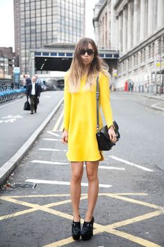 Yellow to brighten up your day