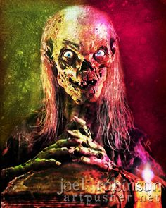 John Kassir is The Cryptkeeper in Tales from the Crypt