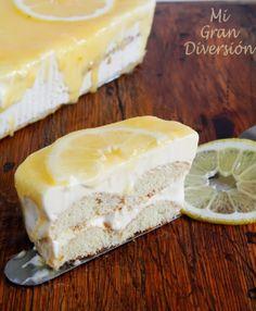 Tiramisú de limón (Lemon Curd)
