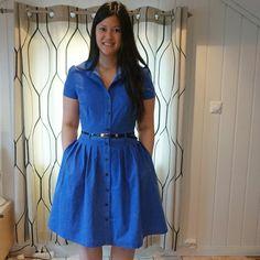My Blu dress aka Short Sleeve Dresses, Dresses With Sleeves, Samba, Party, Fashion, Moda, Fiesta Party, Sleeve Dresses, Fashion Styles