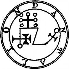 ars-goetia:  Seal of Dantalion