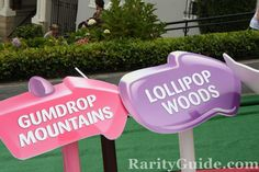 Candyland Game Signs | Re: Lombard Candyland celebration Hasbro San Francisco Aug 2009 ...