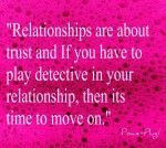 Detective In Your Relationship