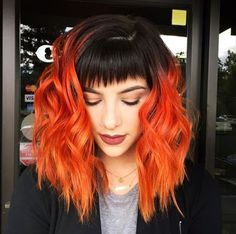 This post contains the cutest crazy hair color ideas. These ideas will help you achieve an exceptionally beautiful look. Grey Balayage, Balayage Hair, Medium Hair Cuts, Medium Hair Styles, Long Hair Styles, Crazy Hair, Pretty Hairstyles, Brown Hairstyles, Hair Looks