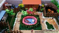This a Zoo model, which I have done for the annual exhibition at my daughter' playschool. I have uploaded the video of how to make it. Check it out!!!