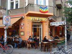 Il Ritrovo-Cucina Casalinga Popolare - Italienisches Restaurant mit sehr gutem Essen und schlechtem Service.   3 x in Berlin (F-Hain, Prenzlberg, X-berg)