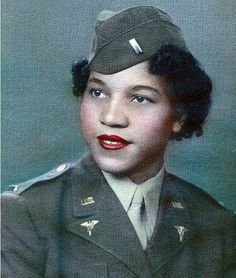 Alberta Martin; She tried to enlist in the Army Nurse Corps. In autobiographical notes, she wrote that her application was denied because there was a quota for black nurses. In March 1945, she finally received a commission as a lieutenant and was one of 20 black nurses to serve in an integrated unit in Fort Meade, Md. ~
