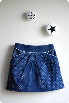 3 mois déjà que le patron de jupe MINI-PERLE est sorti. 3 mois de vie également pour la marque IVANNE.S Petit bilan.