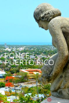 Beautiful beach views, unique architecture, rum, sugar and delicious food! Ponce, Puerto Rico is a MUST VISIT! #PuertoRico #Ponce
