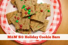 M&M'S® Holiday Cooki
