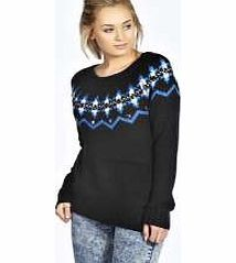 boohoo Elda Yoke Pattern Jumper With Jewels - black Go back to nature with your knits this season and add animal motifs to your must-haves. When youre not wrapping up in woodland warmers, nod to chunky Nordic knits and polo neck jumpers in peppered mar http://www.comparestoreprices.co.uk/womens-clothes/boohoo-elda-yoke-pattern-jumper-with-jewels--black.asp