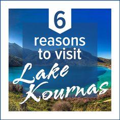 6 Reasons to Visit #Lake #Kournas in #Crete http://www.rental-center-crete.com/blog/lake-kournas-crete/