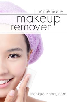 Finally an all natural homemade makeup remover that's good for your skin!
