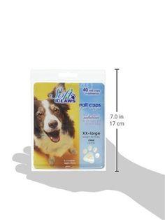 Soft Claws Dog Nail Caps Take Home Kit, XX-Large, Natural