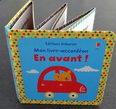 Les Mercredis de Julie : Mon livre-accordéon En avant !