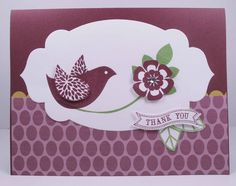 SU Betsy's Blossoms, Itty Bitty Banners, Apothecary Accents Framelits