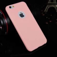 787dd1f2f98 Perfect Slim Cover for Apple iPhone 6Plus 6Splus 5.5   Soft TPU Silicone  Phone Cases Fashion Cute Candy Colors