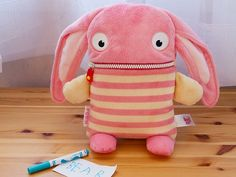 Worry Eaters are offbeat, cuddly characters, discovered by The Grommet. Little ones write down their worries and let their buddies hold on to them for them.