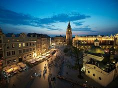 Top ten Cities in Europe. Krakow, Poland.