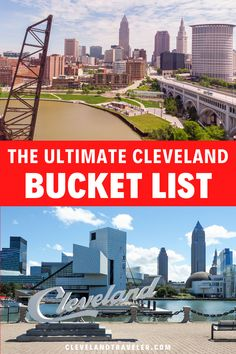 The ultimate bucket list for Cleveland, Ohio, including all the best things to do in Cleveland, divided up by neighborhood. Whether you like food, beer, lake views, or outdoor pursuits, this list showcases the best of the city. Cleveland Arcade, Cleveland Food, Cleveland Restaurants, Downtown Cleveland, Playhouse Square, Cleveland Metroparks, Cleveland Heights, 100 Things To Do, Lake Erie